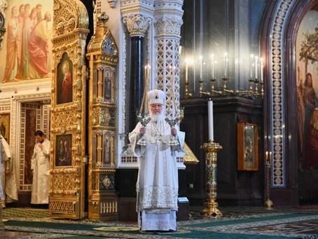 Patriarca Kirill: Carta Pascual