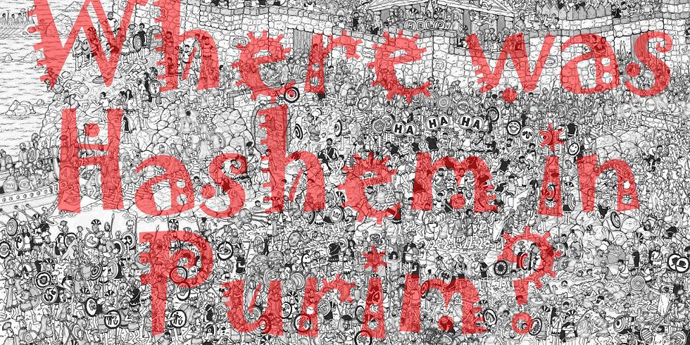 Where was Hashem in Purim?