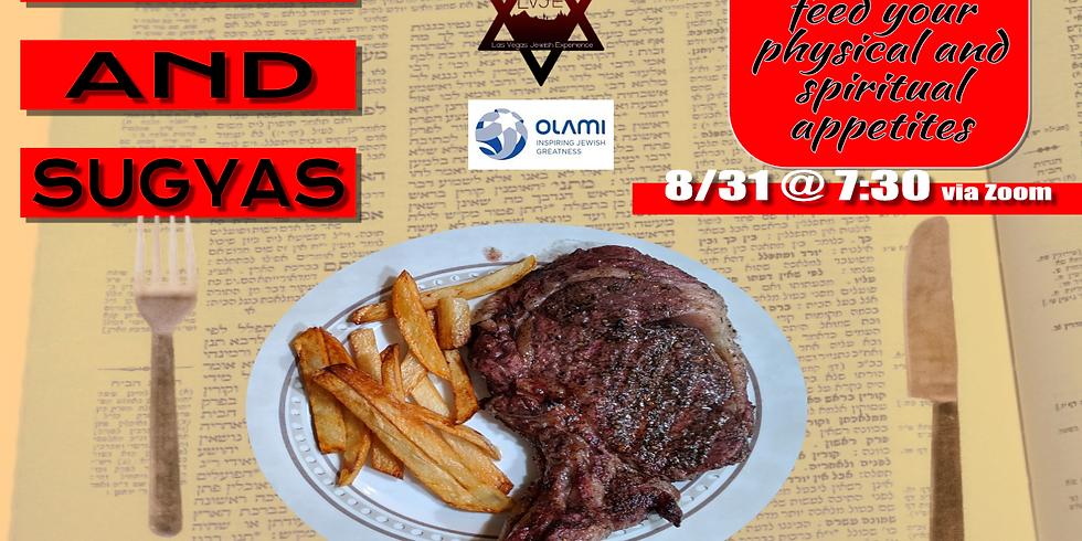 Steak and Sugyas 1/18