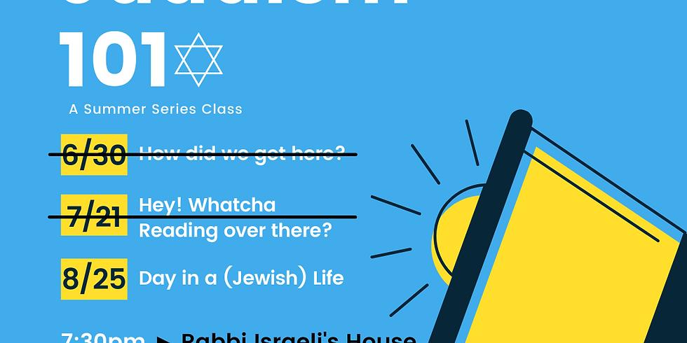 Judaism 101 #3