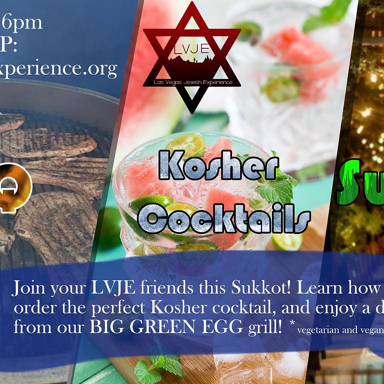BBQ, Kosher Cocktails, and Sukkah