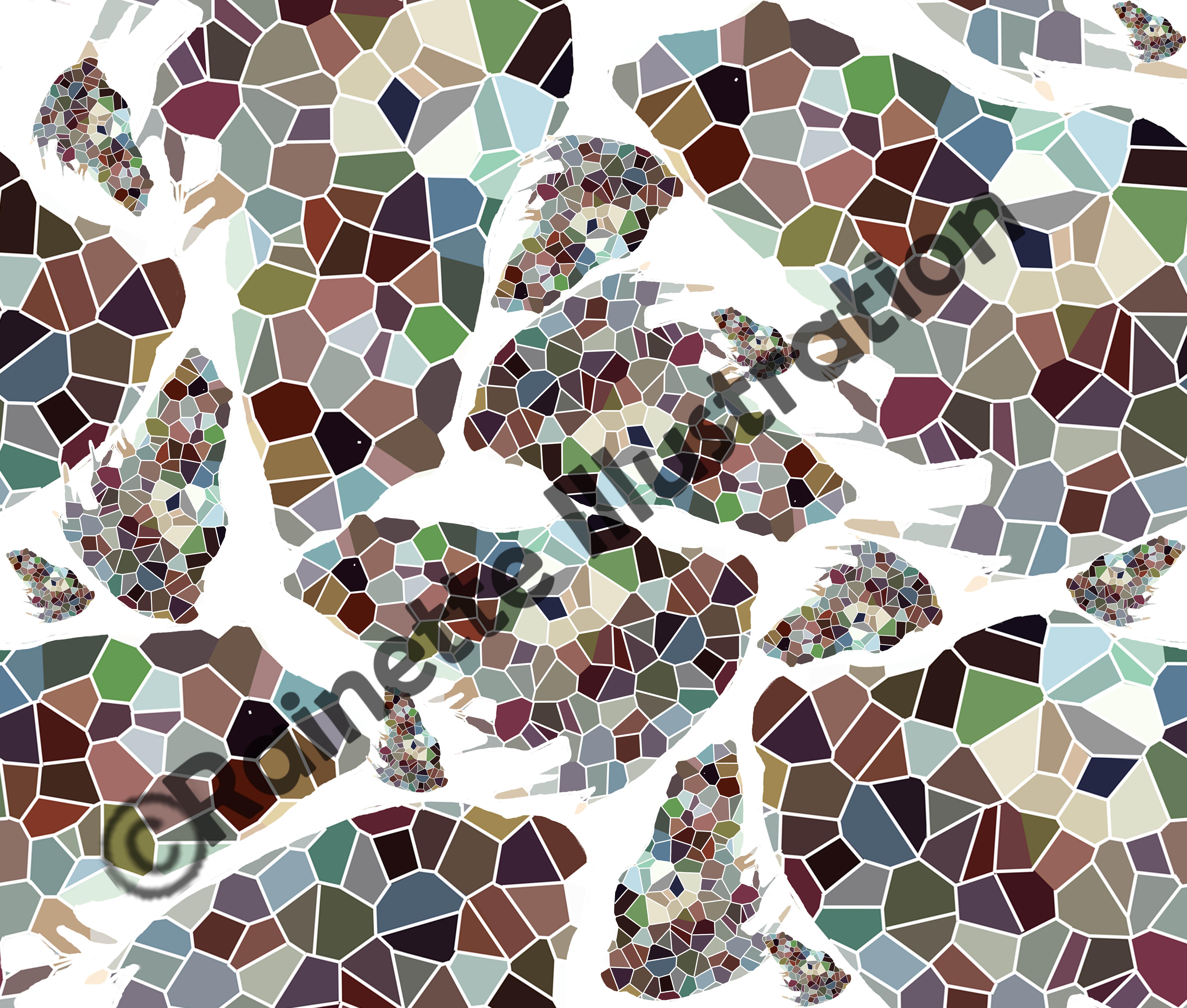 melange geometrique