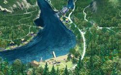 Aperçu sur mobile d'une carte artistique interactive
