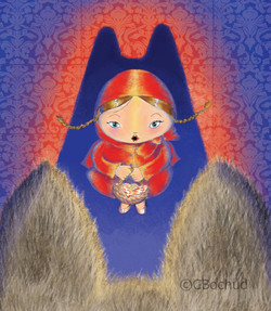 Chaperon rouge, Red Riding Hood