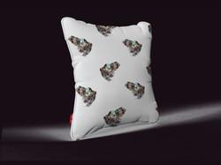 pillow grenouille pattern