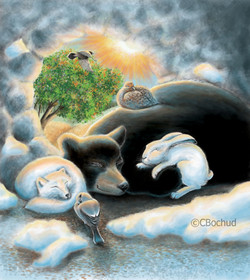 Les saisons, seasons, sleep