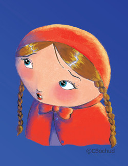 Chaperon rouge, Red Riding Hoo