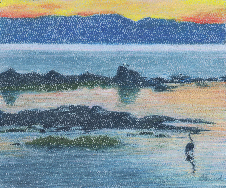 Bord de mer -  Sunset Seashore