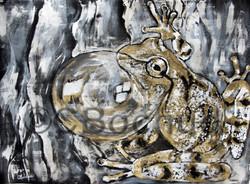 Rainette frog spring pepper