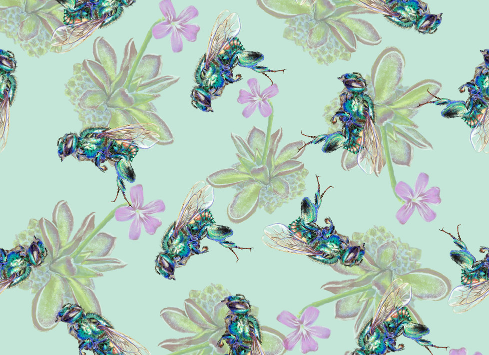 beeorchid fond pale+ fleur pour motif.jp