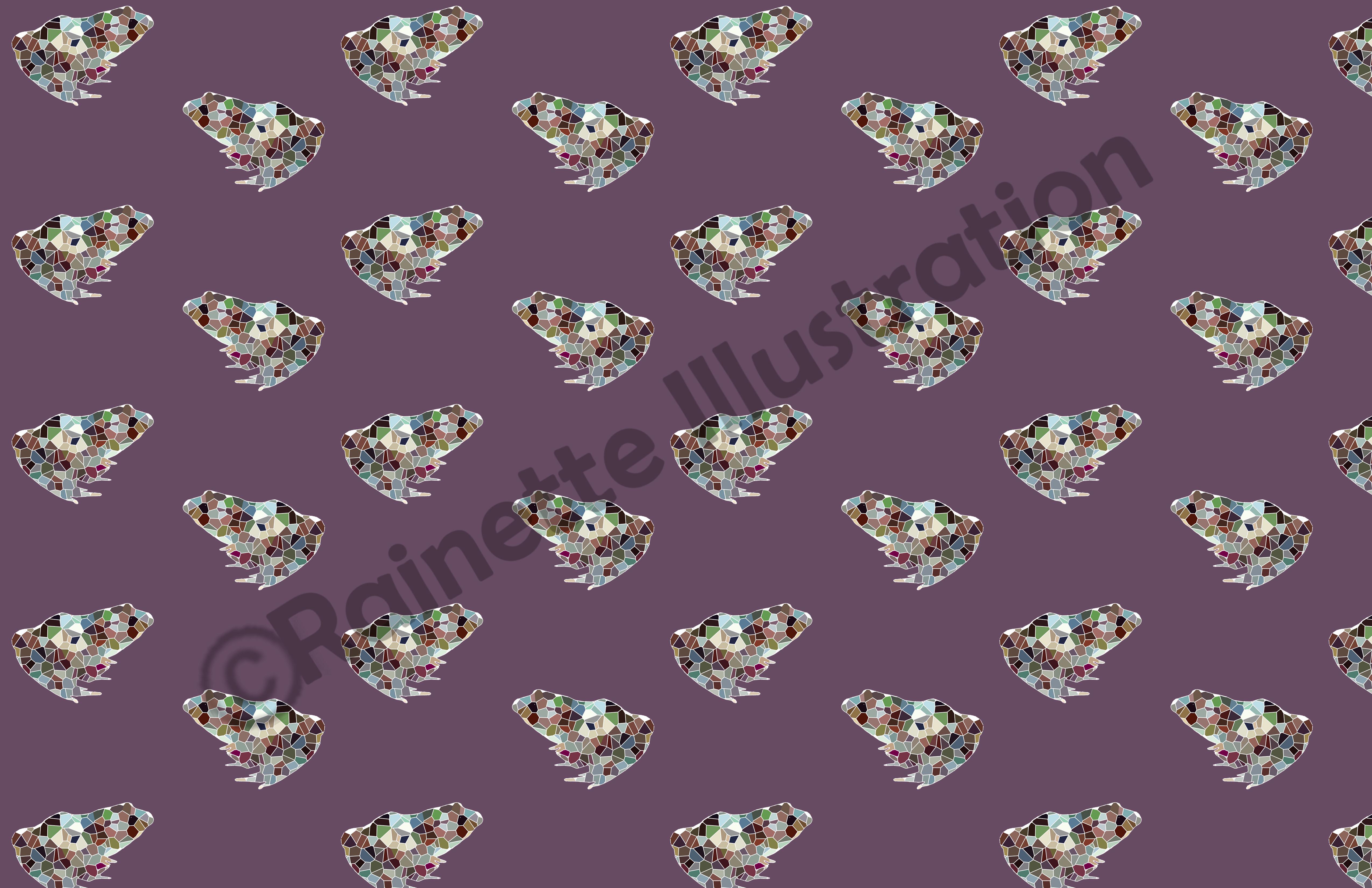 pattern_grenouille_geométrique