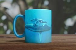 tasse bleue fond arbre mug_left_front_new