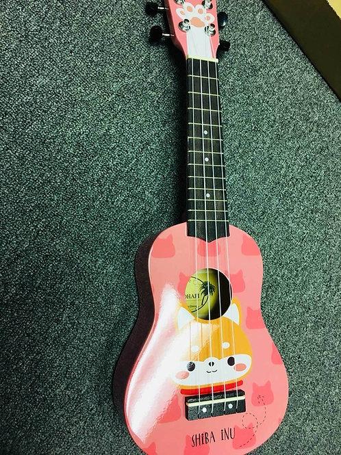 kids ukulele in pink 2nd