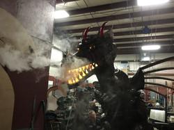 Dragon Sculpture; NHB