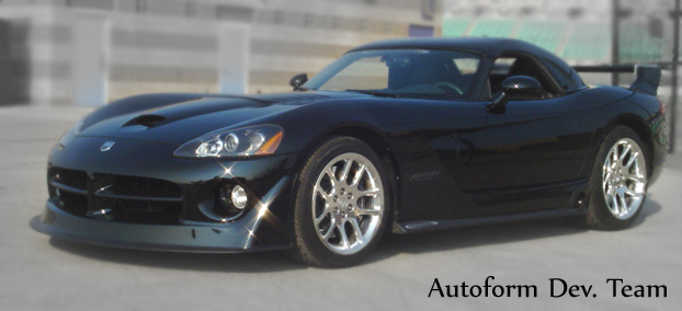 SRT Dodge Viper; Autoform