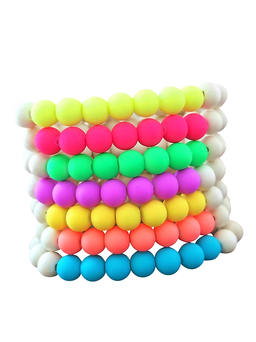 Citrus Neon Bracelets with or without charm