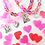 Thumbnail: Valentine's Day Moonstone Gems Bracelet w/Charm