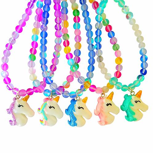 Unicorn Gems Rainbow of Positivity Choker