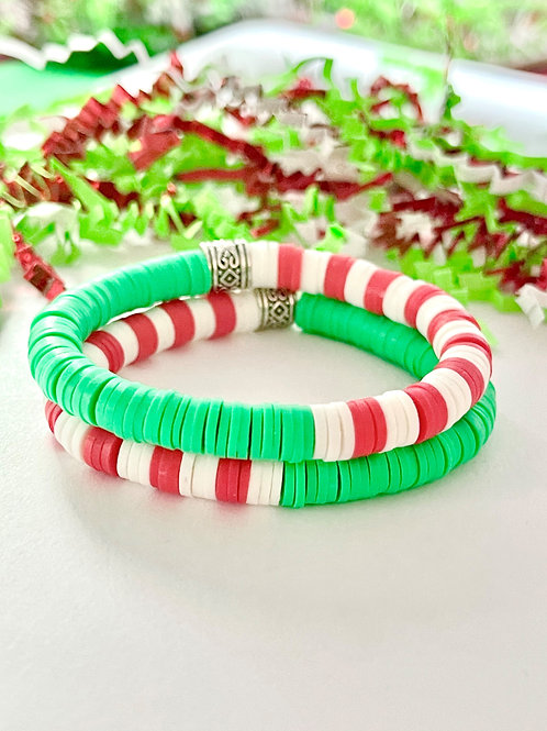 Elf Disco Clay Bracelet
