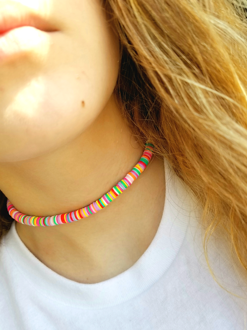 Disco Clay Chokers