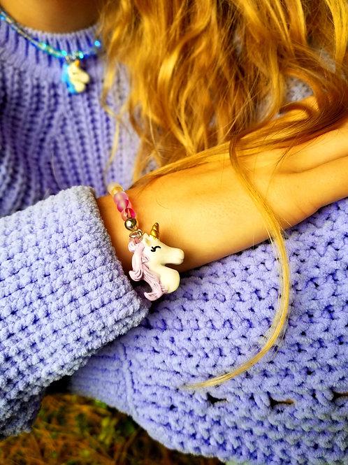 Unicorn Gems Rainbow of Positivity Bracelet