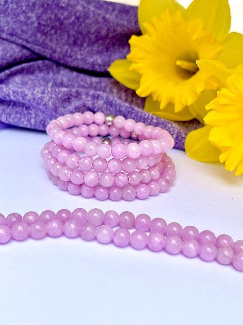 Lavendar Jade Bracelet
