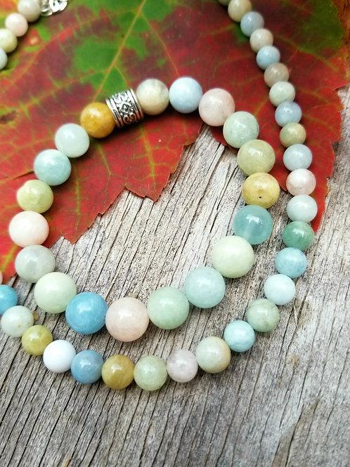 Morganite Autumn Bracelet