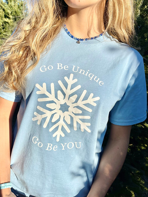 Go Be Unique Snowflake Tee