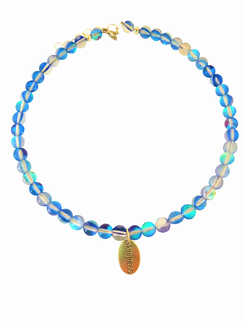 Kindness Moonstone Gems Choker