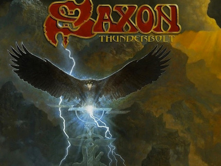 "SAXON: 22nd STUDIO ALBUM ""THUNDERBOLT""..."