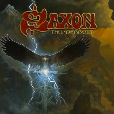 """SAXON: 22nd STUDIO ALBUM """"THUNDERBOLT""""..."""