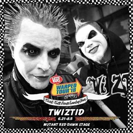 TWIZTID Joins the Final 2018 Vans Warped Tour Line-Up