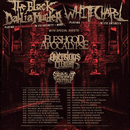 The Black Dahlia Murder and Whitechapel to co-headline USA tour