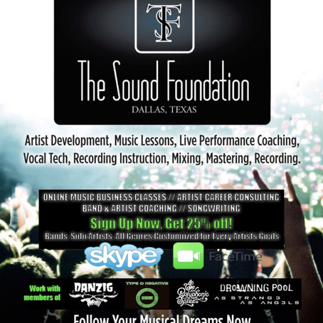 THE SOUND FOUNDATION goes Worldwide!