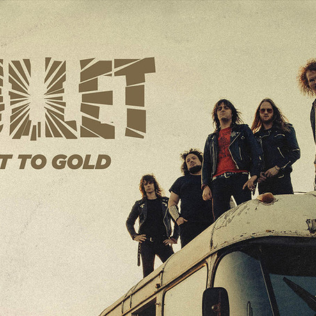 """BULLET Release New Single and Video For """"Ain't Enough""""   New Album """"Dust To Gold"""" Out 4/20"""