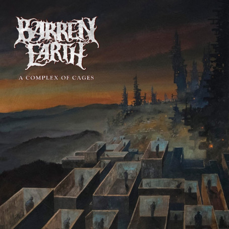 """BARREN EARTH Release Lyric Video For New Single, """"Withdrawal""""  New Album, """"A Complex Of Cages"""", Due"""