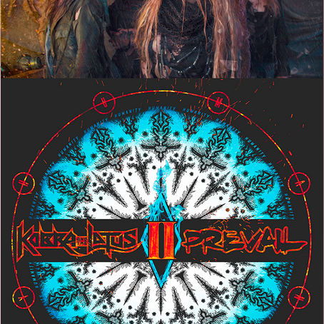 "KOBRA AND THE LOTUS DROP First Lyric Video For ""Losing My Humanity"" via Bravewords PREVAIL II 4/27"