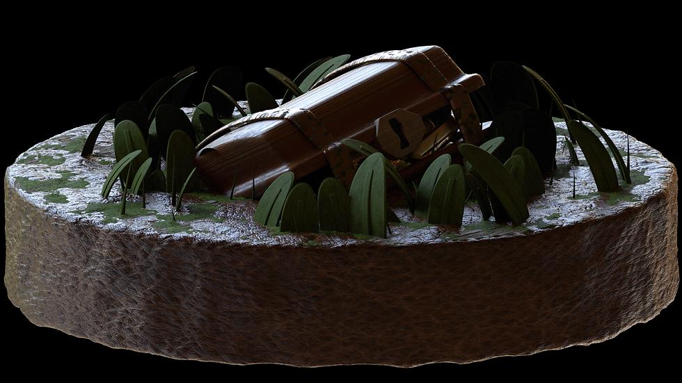 Treasure Chest - 3D Model