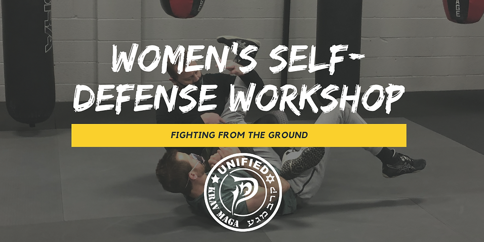Women's Self-Defense Workshop: Fighting from the Ground