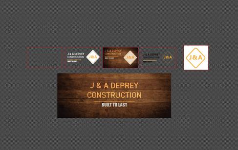 J&A DePrey Branding