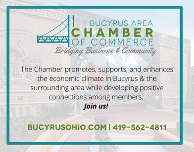 Bucyrus Area Chamber of Commerce Advertisement