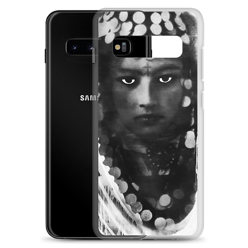 Samsung Case - Berber Woman black&white - by Schirka El Creativo