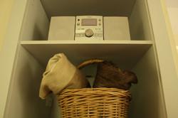 Radio and Alpaca blankets