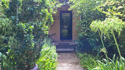 Riverdeck Cottage entrance