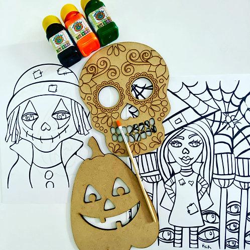 Halloween Art  Box