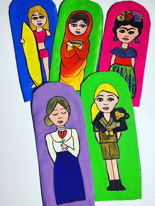 Set de manoplas Mujeres Poderosas