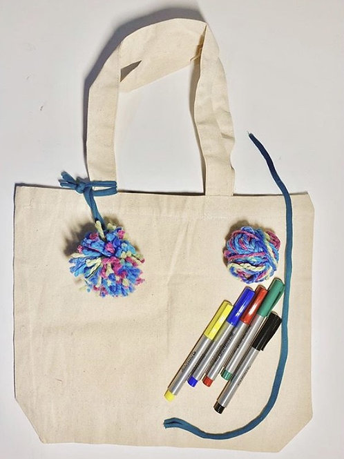 Art Box Tote Bag
