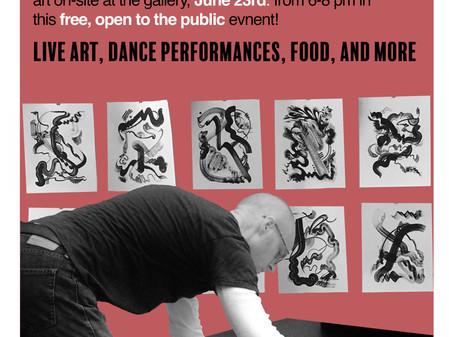 Art & Dance, June 23rd