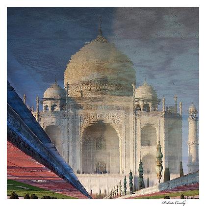 reflet du Taj Mahal