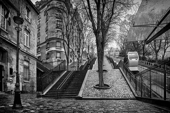 montée vers Montmartre